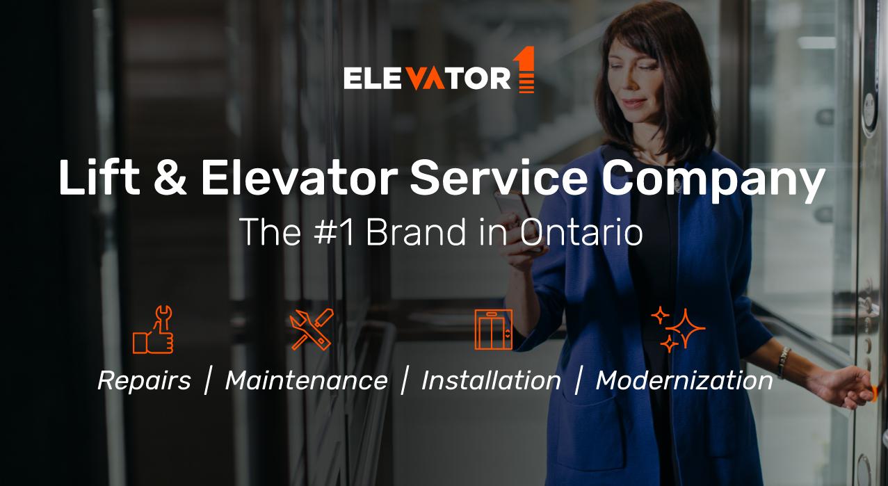 Elevator One – Ontario's #1 Elevator Company 25+ Years